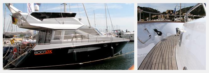 Boote und Yachten folieren statt lackieren! Mit einer Bootsfolierung können Sie zeitraubende Arbeiten sparen und erhalten dauerhaft beständige Oberflächen