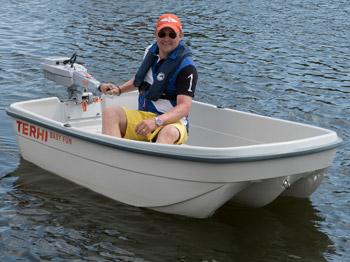 Das Ruderboot Terhi Baby Fun