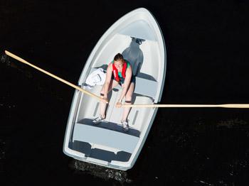 Das Ruderboot Terhi Sunny