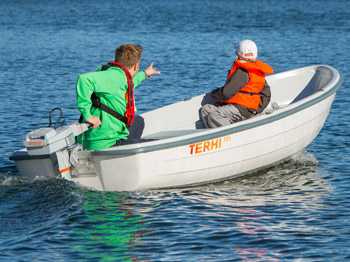 Das Ruderboot Terhi 385