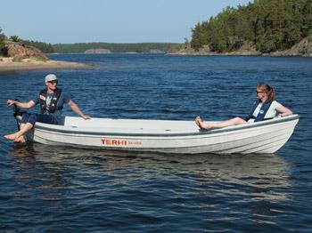 Das Ruderboot Terhi Saiman Solar