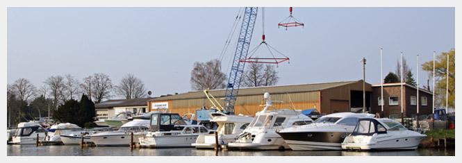 THALMANN Bootshandel und Bootservice in Hamburg Moorfleet an der Elbe