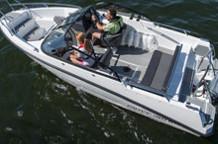 AMT 190 BR Motorboot mit 80 PS Außenborder