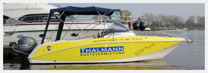 Yachtcharter und Bootsvermietung bei Thalmann in Hamburg