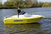 15 PS Motorboot Janmor 530 leihen