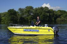 Necko 475 Motorboot mit 60 PS Außenborder