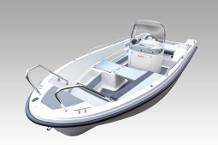 15 PS Motorboot Terhi 450 CC leihen
