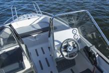 Terhi 475 BR Motorboot mit 60 PS Außenborder