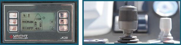 Yacht Control Steuerung mit LCD Display